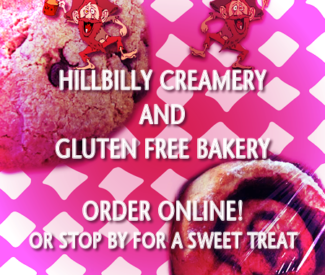 Hillbilly Creamery - Gluten Free Bakery